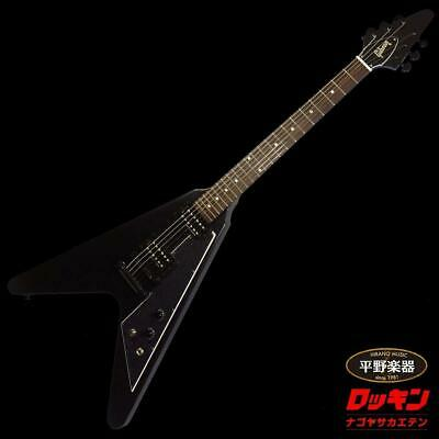 Gibson Flying V Tribute 2019 Satin Ebony With Gig Bag From Japan Free Shipping • 1,637.85£