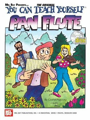 MEL BAY YOU CAN TEACH YOURSELF PAN FLUTE By Costel Puscoiu **BRAND NEW** • 27.29£