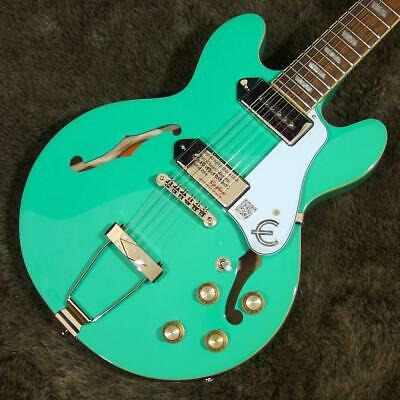 Epiphone Casino Coupe Turquoise Hollow Body With Soft Case From JP Free Shipping • 716.07£