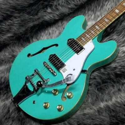 Epiphone Limited Edition Casino Bigsby Turquoise With Soft Case F/S From Japan • 926.80£