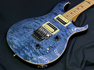 Paul Reed Smith SE Custom 24 Whale Blue Electric Guitar With Gig Bag From JP F/S • 1,179.21£