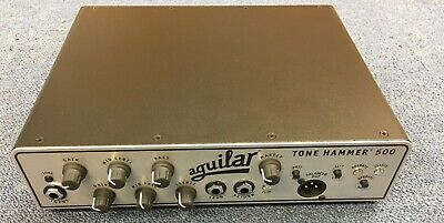 Aguilar Amplifier Tone Hammer 500 Super Light Head- B-grade Stock Rrp £929 • 729£