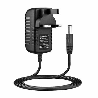 9V UK AC DC Adaptor Charger For Arturia KeyStep Keyboard Power Supply Cord Cable • 7.19£