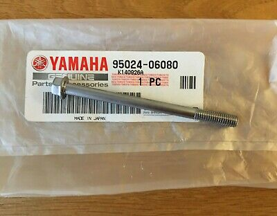 Yamaha, Engine Case Cover Bolt 6x80 SS , YZf450 And Others Subject To Size  • 4.95£