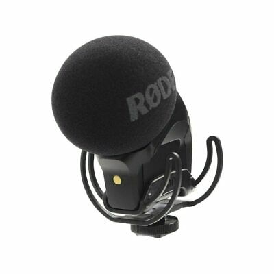 Rode Stereo VideoMic Pro With Rycote Lyre Suspension Mount (Open Box) • 199.05£