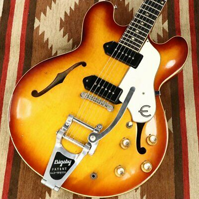 Epiphone E230TD Casino Sunburst Semi-Hollow Body With H/C Used JP Free Shipping • 6,512.77£