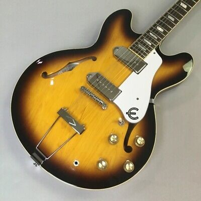 Epiphone Elitist 1965 Casino Semi-Hollow Body T107954 With Hard Case Used JP F/S • 1,804.85£