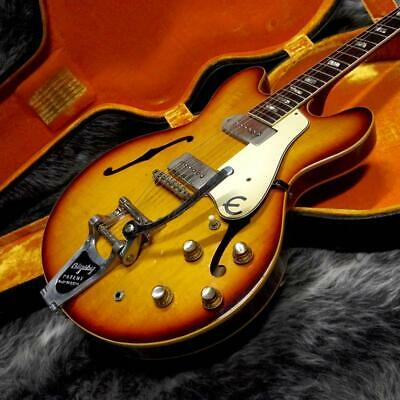 Epiphone E230TD CASINO 1967 Royal Tan Semi-Hollow Body With H/C Used Japan F/S • 5,003.07£
