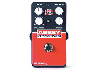 Keeley Electronics Abbey Chamber Verb Vintage Reverb • 122.17£