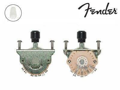 Fender (Oak Grigsby) Genuine Replacement Part- Pickup Selector Switch 3 Way • 19.62£