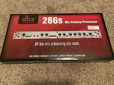 Dbx 286s Microphone Preamp & Processor - Brand New In Box - Free Shipping • 145.69£