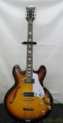 EPIPHONE CASINO VS S/N.17031504986 Semi-Hollow Body Used Japan Free Shipping • 755.50£