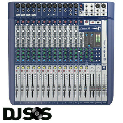 Soundcraft By Harman Signature 16 - 16 Channel Analogue PA Mixer Band Stage Mic • 524.95£