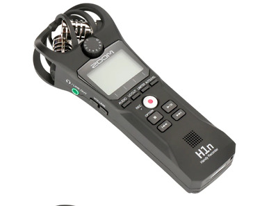 ZOOM H1N Handy Recorder Digital Camera Audio Recorder Interview Recording Stereo • 118.99£