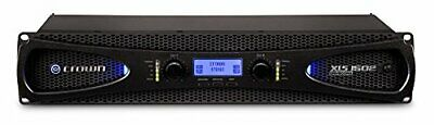 Crown Audio XLS 1502 Stereo Power Amplifier (525W At 4 Ohm) • 358.10£
