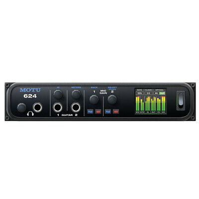 MOTU 624 Thunderbolt And USB Audio Interface With AVB Networking And DSP • 642.22£