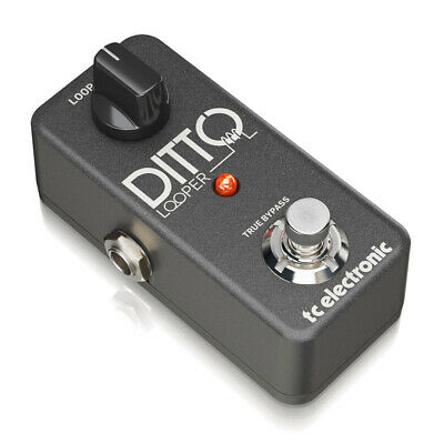 TC Helicon Ditto Looper Highly Intuitive Looper Pedal With 5 Minutes Of Looping  • 89£