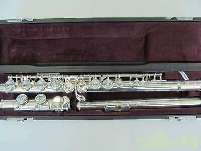 YAMAHA S/N.32951 Model NO.YFL-212 FLUTE With Hard Case Used Japan Free Shipping • 875.94£