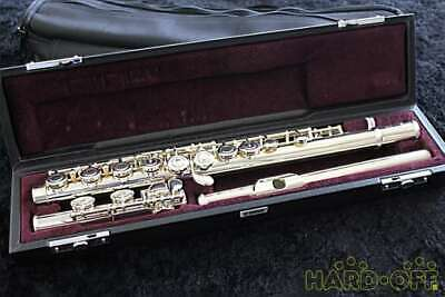 YAMAHA K26855 YFL-212LRS FLUTE With H/C And Carrying Case Used JP Free Shipping • 889.47£