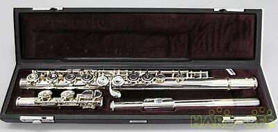 YAMAHA K75093 YFL212 FLUTE With H/C And Carrying Case Used Japan Free Shipping • 724.50£