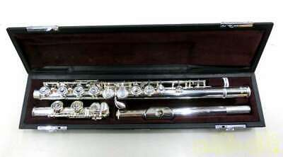 YAMAHA YFL212 FLUTE With Soft Case And Carrying Case Used Japan Free Shipping • 737.05£
