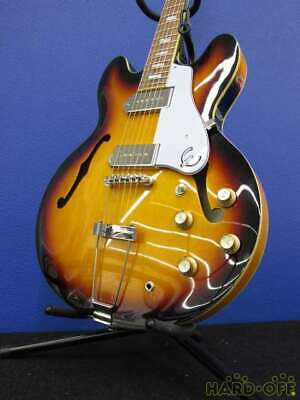 Epiphone 19031527939 Casino VS Hollow Body With Soft Case Used JP Free Shipping • 749.91£