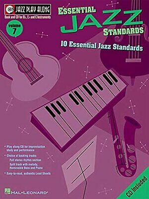ESSENTIAL JAZZ STANDARDS: JAZZ PLAY-ALONG VOLUME 7 By Hal Leonard Corp. **NEW** • 26.21£