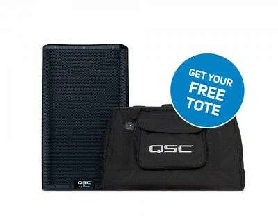 QSC K12.2 Active 12  2000W 2-Way ABS DSP Speaker + FREE TOTE BAG • 849£