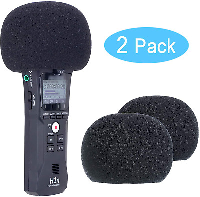 YOUSHARES Zoom H1n & H1 Recorder Foam Windscreen, Wind Cover Pop Filter Fits H1n • 11.80£