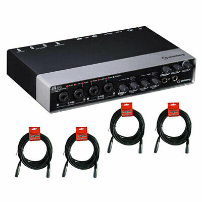 Steinberg UR44 6x4 USB 2.0 Audio Interface With 4-Pieces Of XLR Cable • 238.90£