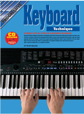 Learn How To Play Keyboard - Piano & Keyboard Technique Tutor Music Book CD - F2
