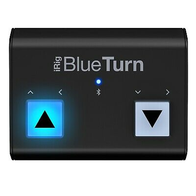 IRig BlueTurn Backlit Silent Bluetooth Page Turner For IPhone, IPad Mac Android • 49.55£