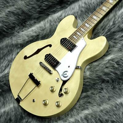 Epiphone CASINO Natural Semi-Hollow Body With Soft Case Used Japan Free Shipping • 1,002.94£