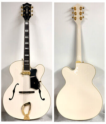 *NEW* GUILD A-150 SAVOY Special Snowcrest White Electric Guitar Hollow W/HSC • 1,754.04£
