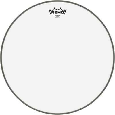 Remo Emperor Drum Heads Tom Toms Skins- Clear 12