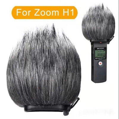 Artificial Fur Wind Muff Furry Deadcat Outdoor Windscreen For ZOOM H1 H1N Cover • 8.69£