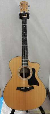 Taylor 114CE 2109045385 Acoustic Electric Guitar With Soft Case Used Japan F/S • 1,224.56£