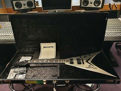 Dave Mustaine's personal Prototype King V built by Dean Guitars USA Custom Shop