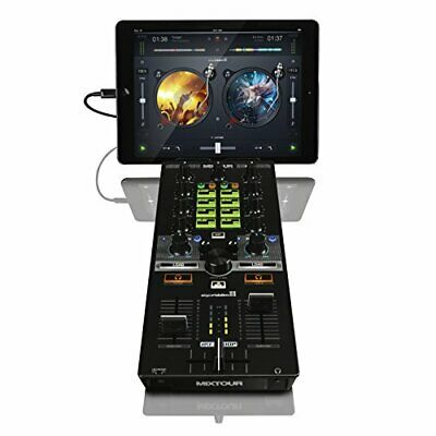 Reloop Mixtour Portable USB All-in-One DJ Controller Black • 198.99£