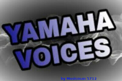 GENOS TYROS PSR YAMAHA New Voices Pack • 35.14£