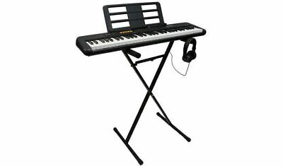 NEW Casio CT-S100AD Keyboard, Stand And Headphones Bundle • 99.99£