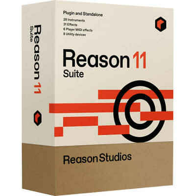 Reason Studios Reason 11 Suite Music Production Software (Upgrade From Full V... • 192.58£