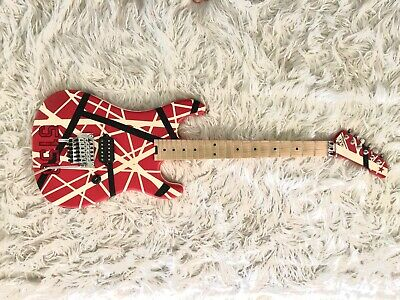 EVH Stripe Series 5150 Red Black White Electric Guitar Lightly Used • 821.76£