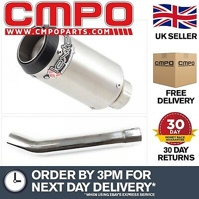 Lextek CP1 Exhaust Silencer With Link Pipe For Yamaha YZF R6 (03-05) EXHKIT18490 • 142.19£