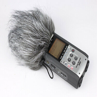 Microphone Windshield Windscreen Artificial Fur Muff For ZOOM H4N H2N Microphone • 4.70£