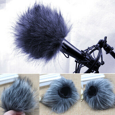 Microphone Windshield Outdoor Soft Recording Pen Professional For Tascam Dr-44wl • 6.63£