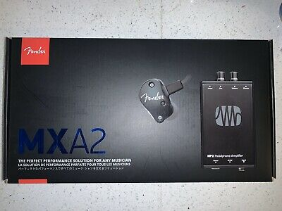 Fender MXA2 FXA2 In Ear Monitor & PreSonus HP2 Amp Bundle • 76.09£