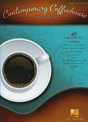 CONTEMPORARY COFFEEHOUSE SONGS By Hal Leonard Corp. • 17.66£