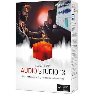 Magix Sound Forge Audio Studio 13 Digital Software For Windows (READ DESCRIPTION • 25.45£