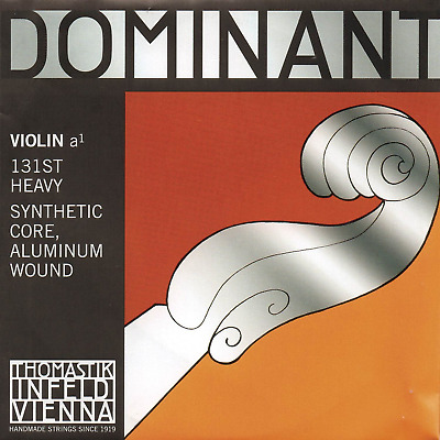 Thomastik Single string for Violin 4/4 Dominant - A-string Synthetic Core,